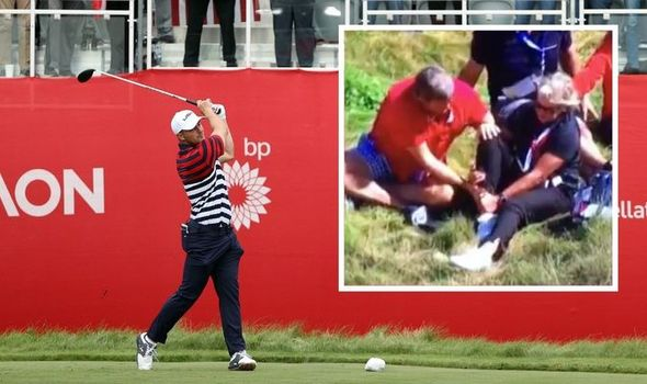 Bryson DeChambeau hits fan during Ryder Cup and supporters call for punishment