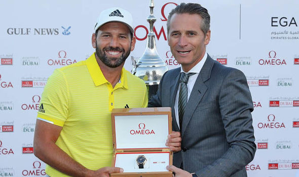 Sergio Garcia lead from start to finish at the Dubai Desert Classic