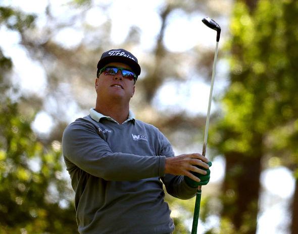 Masters golfer Charley Hoffman