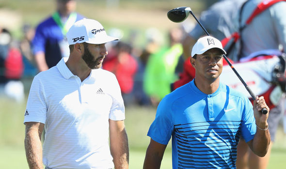 Tiger Woods and Dustin Johnson  US Open 2018: Live stream, TV channel, timings, schedule and tee times   Golf   Sport Tiger Woods and Dustin Johnson 1379933