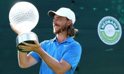 Tommy Fleetwood fights back the tears after pocketing largest ever cheque on European Tour