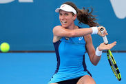 Johanna Konta Eugenie BouchardSydney final Australian Open preparation