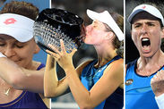 Johanna Konta Agnieszka Radwanska Sydney International Australian Open