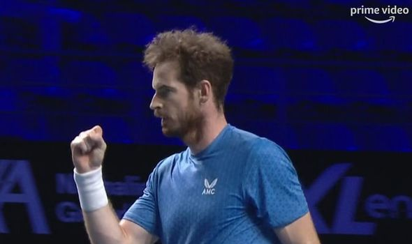 Andy Murray sends comeback warning to rivals after reaching Moselle Open quarter-finals