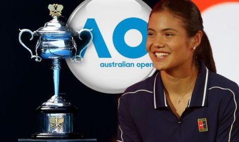 Emma Raducanu set to spend Christmas in hotel as Brit plots path to Australian Open glory