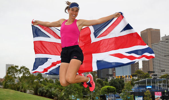 Johanna Konta flattered Andy Murray praise Australian Open News Gossip