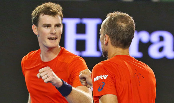 Jamie Murray Bruno Soares fail defend Australian Open title Sam Querrey Donald Young