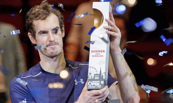 Andy Murray wins the Vienna Open