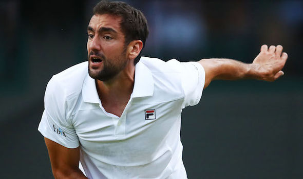 Marin Cilic, the No 3 seed, crashed out of Wimbledon in five sets