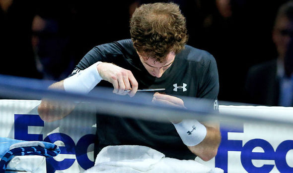 Andy Murray Reveals Why He Cut His Hair During ATP Finals