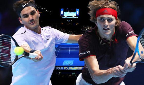 Roger Federer vs Alexander Zverev LIVE from the ATP World Tour Finals