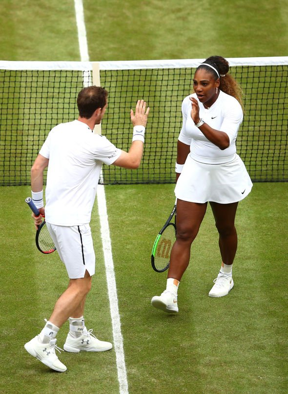 Andy Murray and Serena Williams got off to a fast start
