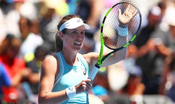 Johanna Konta is the ninth seed in the women's singles  Australian Open 2018 results LIVE: Latest scores as Roger Federer and Novak Djokovic win | Tennis | Sport Johanna Konta is the ninth seed in the women s singles 1196005