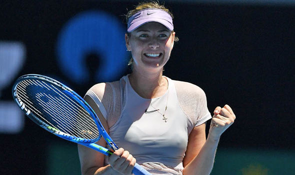 Maria Sharapova last triumphed at the Australian Open in 2008