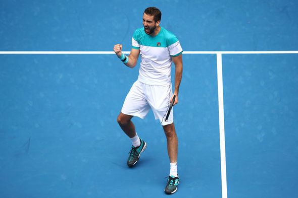 Marin Cilic  Australian Open 2018 results LIVE: Marin Cilic awaits winner of Federer vs Chung | Tennis | Sport Marin Cilic 1202672