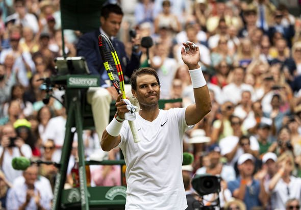 Rafael Nadal has looked in great form through the first week of Wimbledon