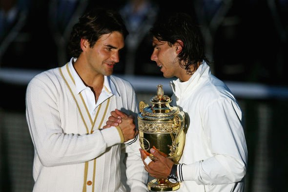 Roger Federer and Rafael Nadal last met at Wimbledon back in 2008