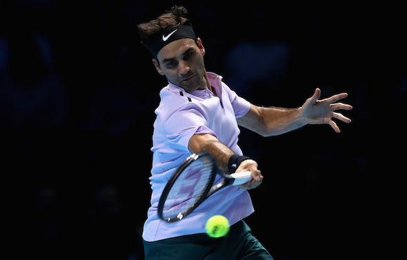 Roger Federer  Roger Federer vs Alexander Zverev LIVE: Latest ATP World Tour Finals updates | Tennis | Sport Roger Federer took the firs set in a tie break 1129227