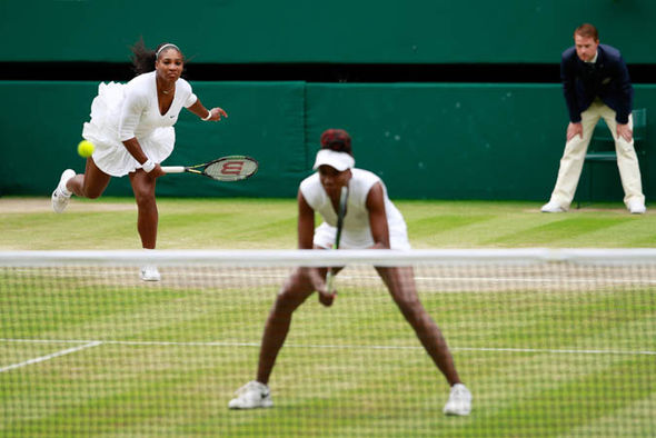 Venus and Serena Williams at Wimbledon 2016