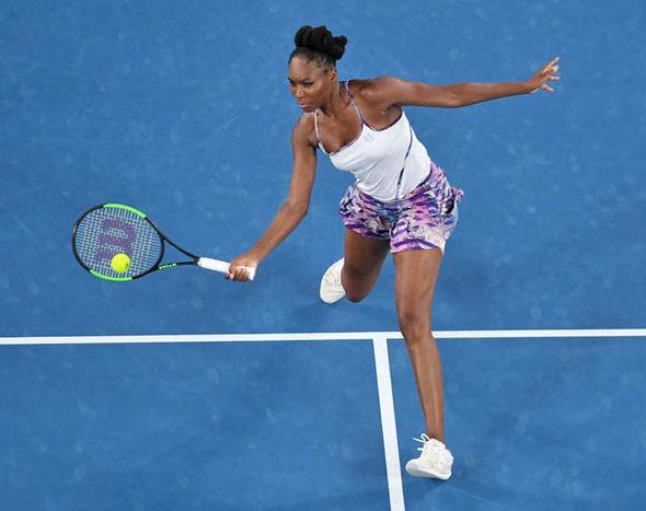 Venus Williams in Australian Open final