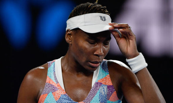Venus Williams at the Australian Open  Australian Open 2018 results LIVE: Marin Cilic awaits winner of Federer vs Chung | Tennis | Sport Venus Williams at the Australian Open 1201819