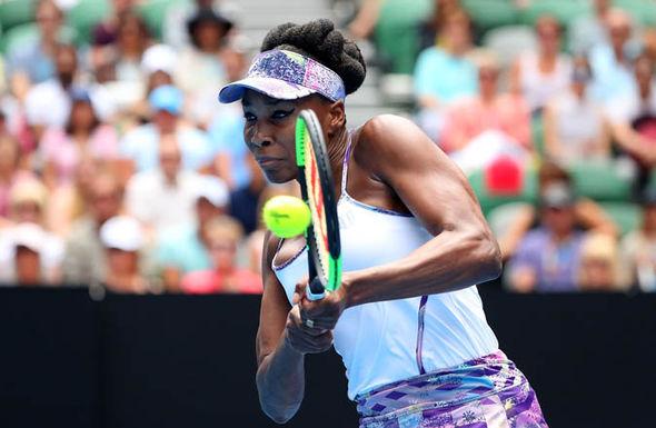 Venus Williams at the Australian Open 2017