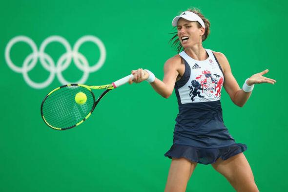 Johanna Konta at Rio 2016