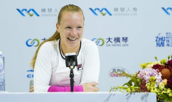 Kiki Bertens explains 2020 schedule as she begins WTA Elite Trophy campaign