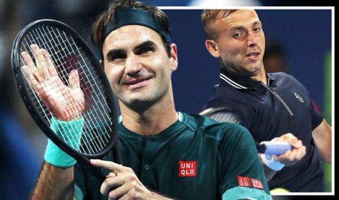 Roger Federer sends warning to Big Three rivals with Dan Evans win on Qatar Open comeback