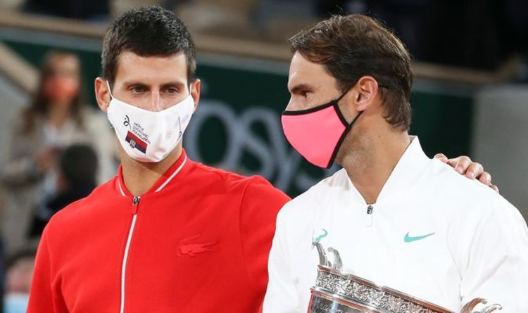 Rafael Nadal criticised for 'salty' Novak Djokovic comment over Roger Federer record