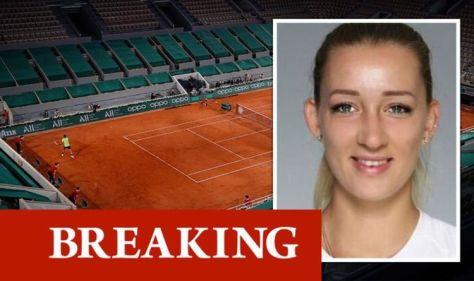 French Open: Yana Sizikova arrested on suspicion of deliberately losing tennis game
