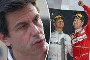 Toto Wolff hint Mercedes sign Sebastian Vettel partner Lewis Hamilton