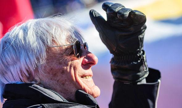 Bernie Ecclestone F1 supremo