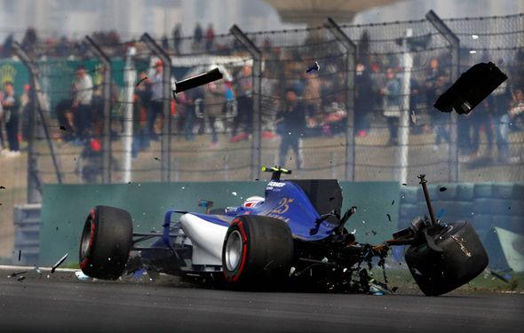 Sauber F1 driver Antonio Giovinazzi