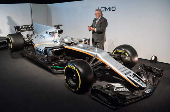 Force India F1 boss Vijay Mallya