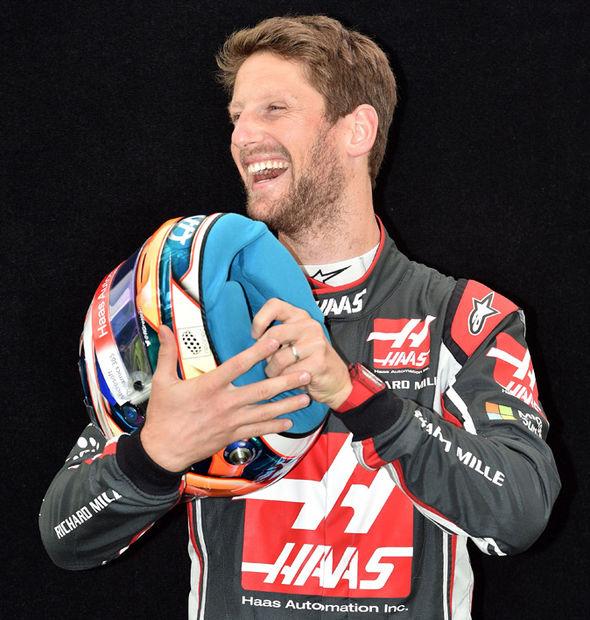 Haas F1 driver Romain Grosjean
