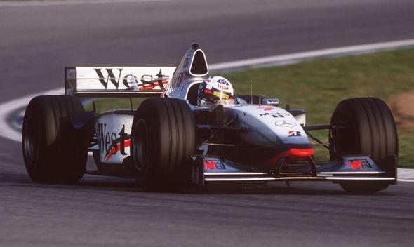 McLaren 1998 car