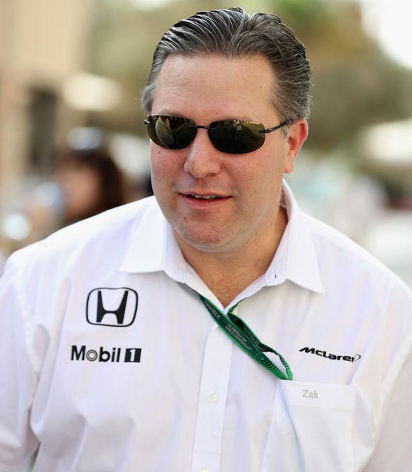 McLaren boss Zak Brown