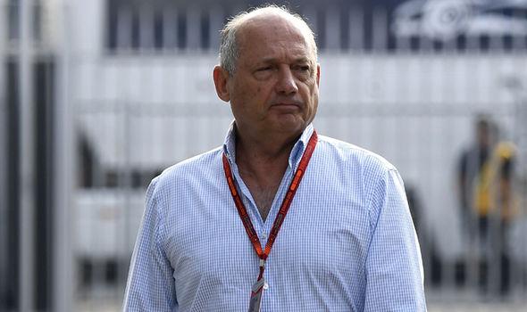 McLaren Ron Dennis