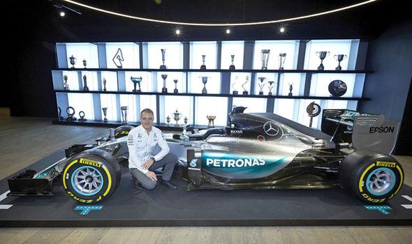 Valtteri Bottas F1 Mercedes driver