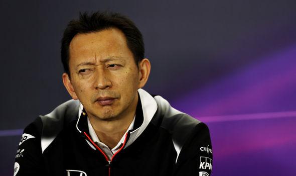 Honda head of F1 project Yusuke Hasegawa