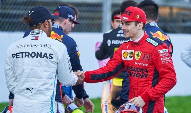 Charles Leclerc aiming to dethrone Lewis Hamilton after Ferrari drop hint over car
