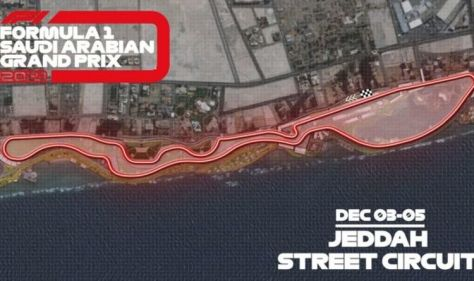 F1 reveal 'fastest ever street circuit' where Lewis Hamilton could clinch world title