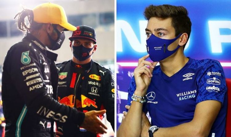 Max Verstappen AND George Russell tipped to replace Lewis Hamilton in huge Mercedes shift