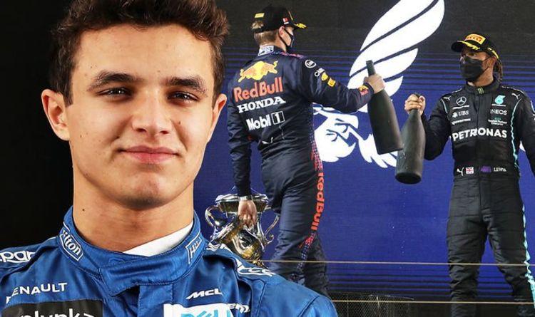 Lando Norris gives bold verdict on Max Verstappen's controversial Lewis Hamilton overtake