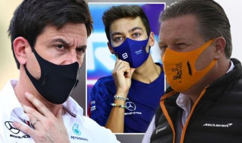 'They spread s**t!' - Mercedes spark Red Bull and McLaren war of words over George Russell