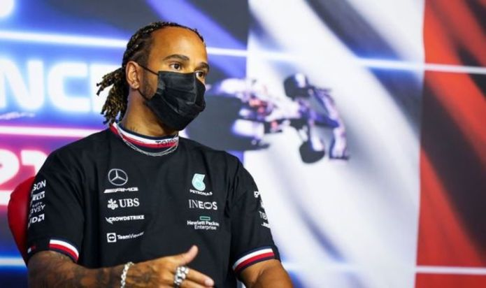 Lewis Hamilton responds to Max Verstappen pressure talk as rivalry continues at French GP