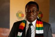 president slight lead zimbabwe general election emmerson mnangagwa ellen johnson sirleaf