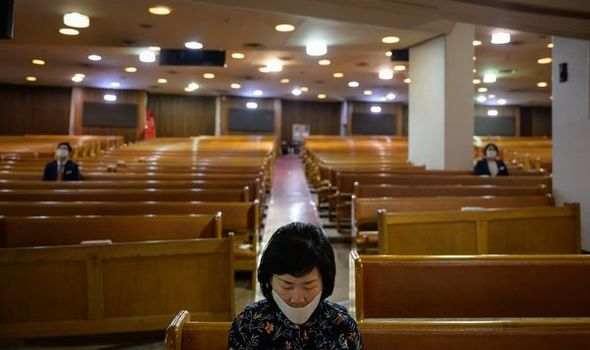 South Korea coronavirus fears as places of worship become worrying new hotspot