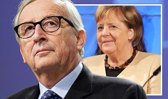 Juncker returns! Ex-EU chief wades in on German election madness to back Merkel's legacy